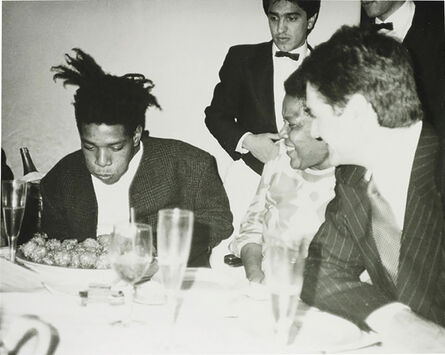 Andy Warhol, 'Jean-Michel Basquiat, Basquiat's Mother and friends', ca. 1984