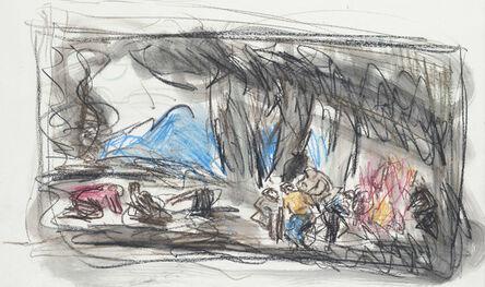 Leon Kossoff, 'From Goya 'Making Shot in the Sierra de Tardienta'', 1994