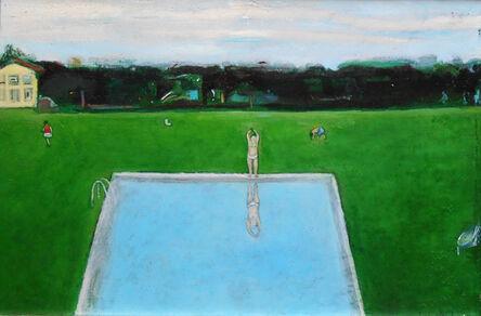 Sopho Chkhikvadze, 'Green Swimming Pool', 2017