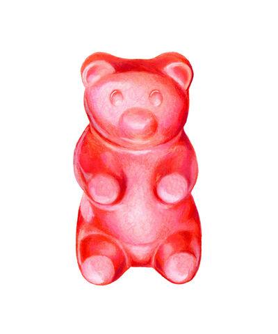 Kendyll Hillegas, 'Gummy Bear Red', 2017