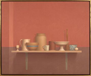 William Bailey, 'Borgo', 1988