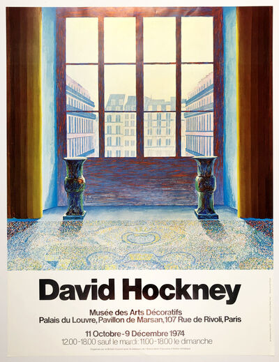 David Hockney, 'Musée des Arts Decoratifs', 1974