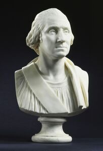 Jean-Antoine Houdon, 'Portrait of George Washington', ca. 1786
