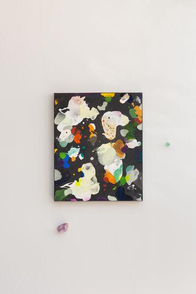 Cristina Lucas, 'Composition. Artificial Boundaries (Bruno Latour), Black Background', 2020