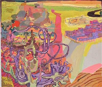 Lisa Sanditz, 'Southern Border Pink', 2016