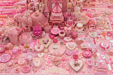 Portia Munson, 'Pink Project: Table', 2016