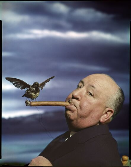 """Philippe Halsman, 'Portrait of Alfred Hitchcock for the promotion of the film """"The Birds""""', 1962"""