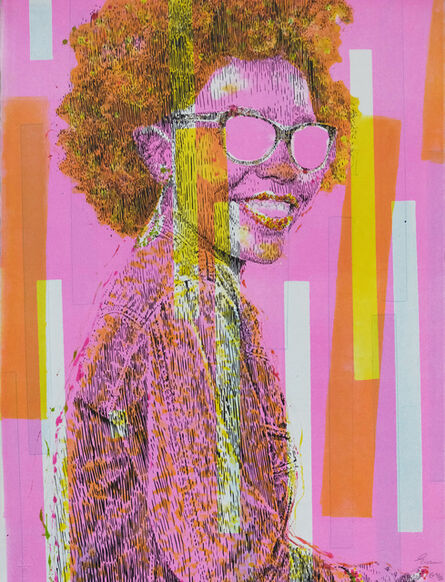 Evans Mbugua, 'Who's that Girl?  EV 9/16', 2020