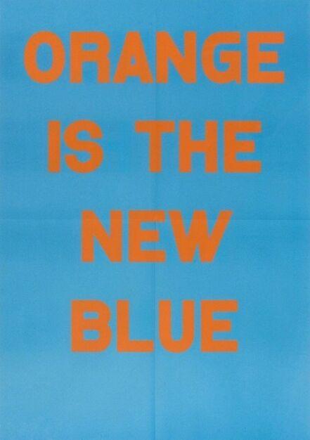 Jeremy Deller, 'Orange Is The New Blue', 2017