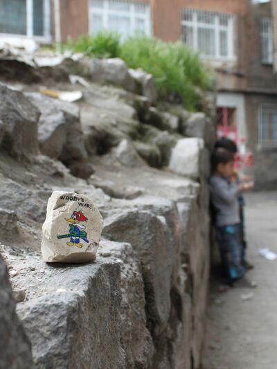 Ahmet Ögüt, 'Stones to Throw', 2011
