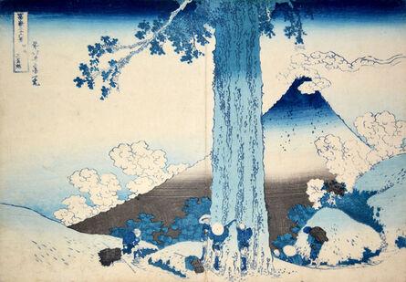 Katsushika Hokusai, 'Mishima Pass in Kai Province', ca. 1832