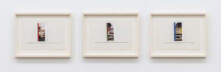 Ian Wallace, 'In The Street (Transmountain Building) I-III', 1991