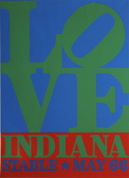 Robert Indiana, 'LOVE-Stable', 1971