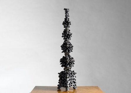 Matthew Solomon, 'Black Tulipiere with Bees, Sculpture', United States-2019