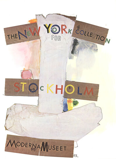 Robert Rauschenberg, 'New York Collection for Stockholm', 1968