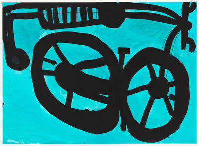 Pablo Calderon, 'Untitled (Blue Bicycle)', 2016