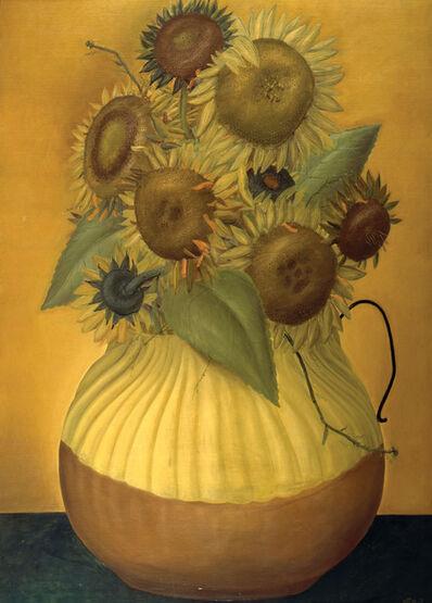 Fernando Botero, 'Girasoles', 1970