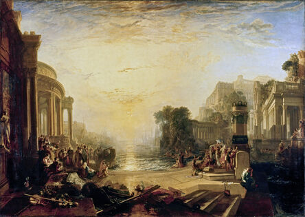 J. M. W. Turner, 'The Decline of the Carthaginian Empire', exhibited 1817