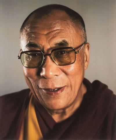 Chuck Close, 'Dalai Lama', 2005