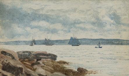 Winslow Homer, 'Sailboats at Gloucester', 1880