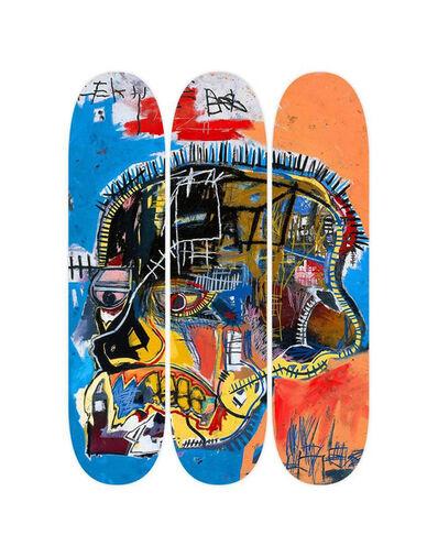 Jean-Michel Basquiat, 'Basquiat Skull Skate Decks, Set of Three (Triptych)', 2014