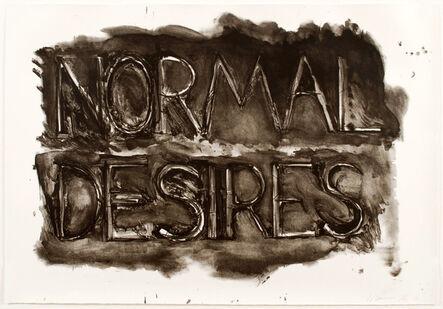 Bruce Nauman, 'Normal Desires', 1973