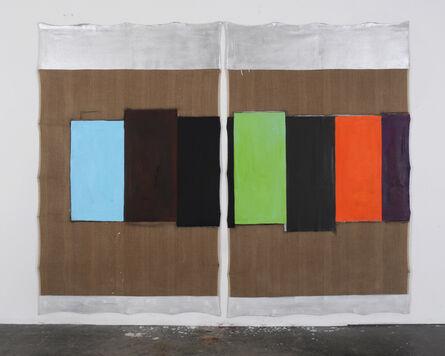 Hanno Otten, 'Über Malerei 581', 2015