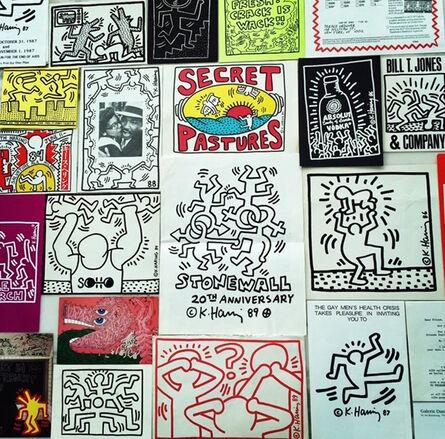Keith Haring, 'Collection of Haring Ephemera', 1982-1990