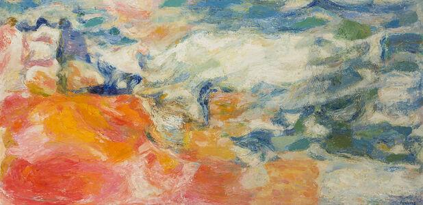 Mabel Alvarez, 'Figures by the Sea', 1963