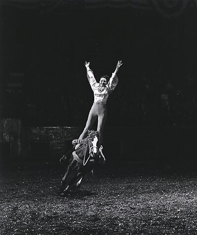 Harold Eugene Edgerton, 'A Girl and her Horse, Seeing the Unseen', 1934 , 1965, printed 1977 by Gus Kayafas under the supervision of Harold Edgerton