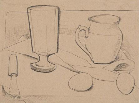 Otto Gutfreund, 'Nature morte', 1920-1924