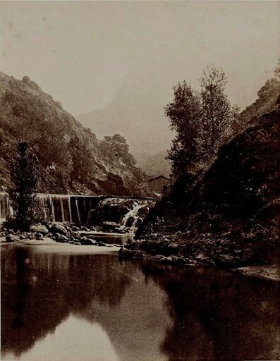 André Giroux, 'Barrage dans le Massif central', 1855