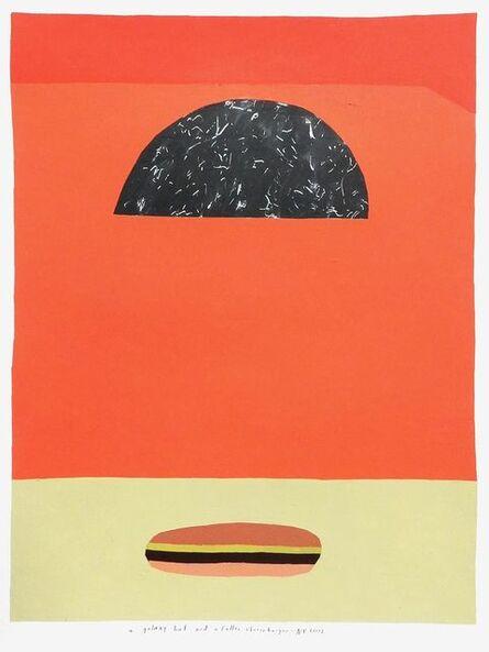 Kristin Texeira, 'a galaxy hat and a fallen cheeseburger', 2017