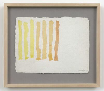 Giorgio Griffa, 'Untitled', 1979