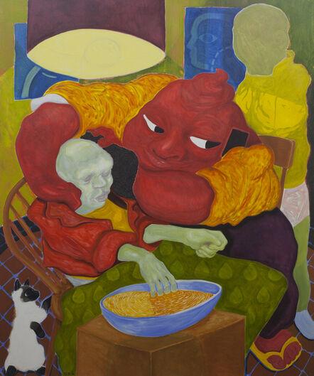 David Surman, 'Pooh Takes Care of Skeleton', 2016