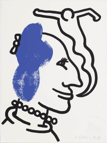 Keith Haring, 'From: The Story of red and blue', 1989