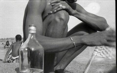 Malick Sidibé, 'Du thé à la plage', 1976