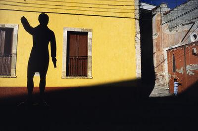 Alex Webb, 'Child and statue, Guanajuato. ', 1987