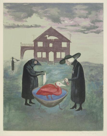 Leonora Carrington, 'Bird Bath (Baño de pájaros)', 1974