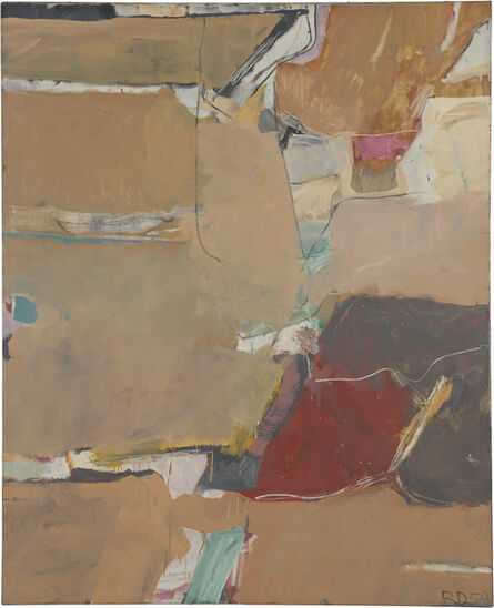 Richard Diebenkorn, 'Berkeley #12', 1954