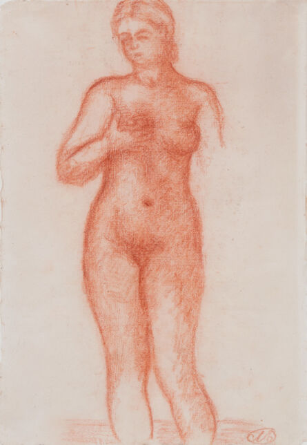 Aristide Maillol, 'Etude pour Harmonie', 1940