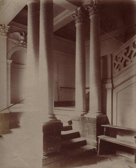 Eugène Atget, 'Escalier de l'Hôtel de Beauvais, 68 rue François Miron. Paris 4', 1902/1902