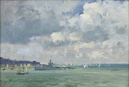 Edward Seago, 'Off Cowes', 20th century