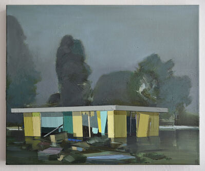 Ulf Puder, 'Holländische Landschaft', 2020