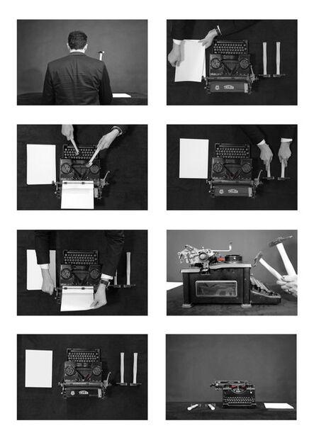 Mounir Fatmi, 'History is not mine', 2013