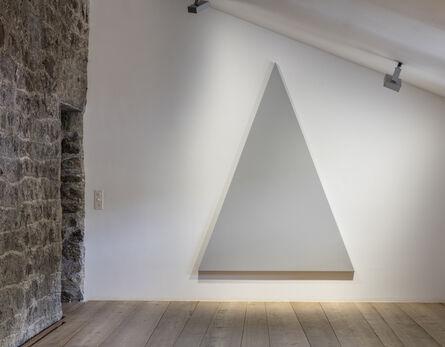 Alan Charlton, 'Triangle Paintng', 2015