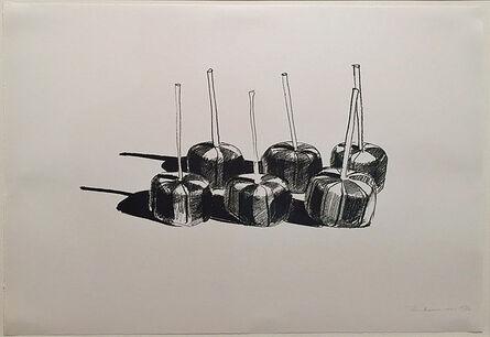 Wayne Thiebaud, 'Suckers, State 1', 1968