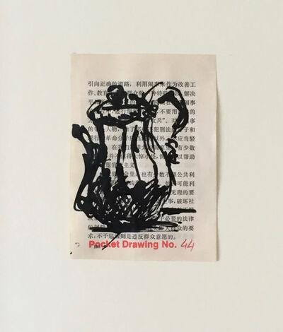 William Kentridge, 'Pocket Drawing No 44', 2014