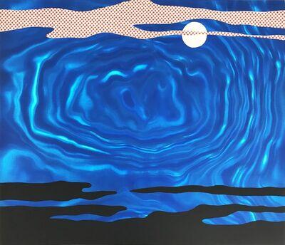 Roy Lichtenstein, 'Moonscape from the 11 Pop Artist portfolio, Volume I', 1965