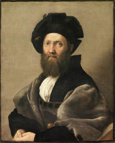 """Raphael, 'Count Baldassare Castiglione, author of """"Il Cortegiano,"""" the book about the perfect courtier', 1514-1515"""
